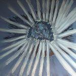 Fiore VI - acrilico ed olio su tela, 100x140