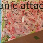 Panic attack - tecnica mista su mdf 5mm, 140x 103,5