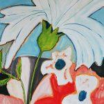 Fiore XXVI - olio su tela, 60x80