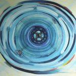 Luna Park - acrilico ed olio su tela, 80x90